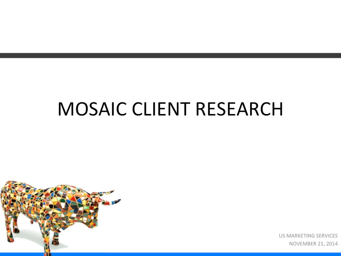 Mosaic Market Research